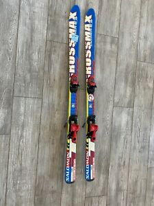 Salomon Crossmax Jr race ski with Salomon TZ5 binding 130 cm TZ 5 90/63/80 13