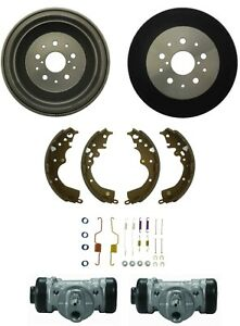 Rear Drum Brake Wheel Cylinders & Shoe kit For Toyota TACOMA 5 Lug RWD