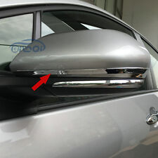 Fit Toyota Prius 2016 2017 ABS Chrome Car Rearview Mirror Strip Cover Trims