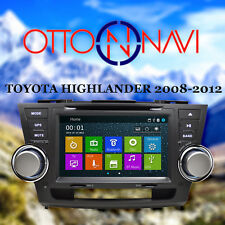 DVD Navigation GPS Multimedia Radio for Toyota Highlander 2008 - 2012