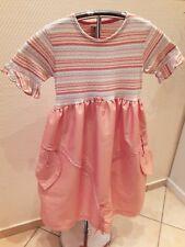 Toff Togs Mädchen Design Kleid Gr. 122 - 128 orange Frühling Sommer Tulpenserie