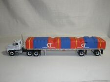 PEM Mack CH600 Coastal Transport Trucking flatbed w/load 1:64