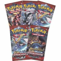 1 POKEMON SUN & MOON crimson invasion BOOSTER PACK | 1 BOOSTER PACK