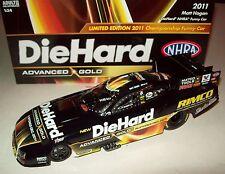 Matt Hagan 2011 DieHard Advanced Gold Championship NHRA Funny Car 1/24 1 of 750