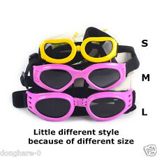 Pet Small Dog Sunglasses Goggles UV Sun Glasses Glasses Eye Wear Protection