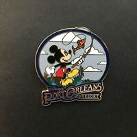 WDW - Disney's Port Orleans Resort - Mickey Mouse Fishing Disney Pin 64353