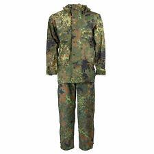 SIZES German army field Jacket & BIB GoreTex Flecktarn waterproof rain gear Set