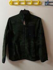 NWT Abercrombie & Fitch Men's Camo Full-Zip Trail Fleece Jacket--Medium