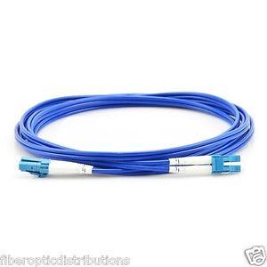 100m LC UPC to LC UPC Duplex Single Mode Armored PVC Fiber Patch Cable- 23100M