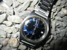 RILA Vintage Uhr Automatic Voll Edelstahl Date 34 mm 60er Jahre 1960s