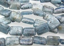 "16"" Strand BLUE KYANITE 10x14mm Rectangle Beads"