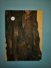 CONSECUTIVE SHEETS OF MACASSAR EBONY. VENEER 15 X 25 CM KE#2 MARQUETRY