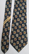 -AUTHENTIQUE cravate cravatte  Salvatore FERRAGAMO  100% soie    vintage