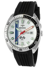 Rotary Aquaspeed GT Monza Motor Racing Men's Swiss Made Automatic Watch NEW RARE