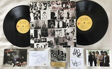 THE ROLLING STONES Jagger Richards Watts 5 Signed Postcard EXILE LP Cards COAs