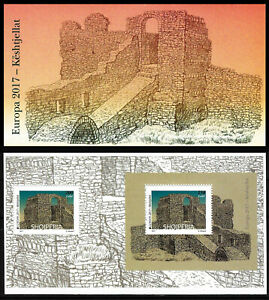 "ALBANIA 2017 - ""Europe 2017 - Castles"" - Booklet  VERY RARE"