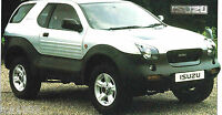 1997/1998 ISUZU VEHI-CROSS SPEC SHEET/Brochure/Catalog