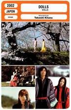 DOLLS - Takeshi Kitano (Fiche Cinéma) 2002
