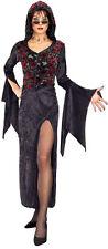 Halloween Disfraces ~ Oscuro Vixen De Terciopelo Negro 8/10-12