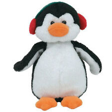Ty Jingle Beanie Baby - Snowbank the Penguin (4 inch) - Mwmt's