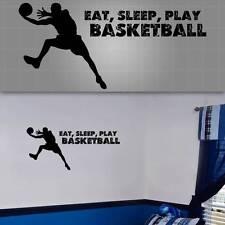 "Basketball Wall Quote. Basketball Wall Decal, Basketball Sticker, 48""x20"""