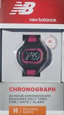 New Balance NB chronograph Ndurance Berry 24 hours Athletic Training Watch NEW