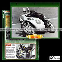 #061.12 Fiche Moto OSSA 250 GP GRAND PRIX 1967-70 Racing Motorcycle Card