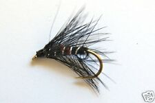 60 Assorted Classic Wet Fly Fishing Flies Loch Style Trout Size 12- Dragonflies