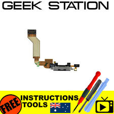 for iPhone 4S replacement usb dock connector flex cable part black