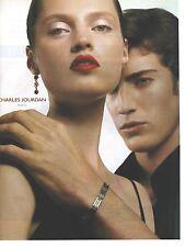 PUBLICITE ADVERTISING 2001  CHARLES JOURDAN bracelet bijoux joaillerie