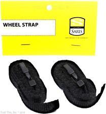 SARIS Bicycle Wheel Straps Bike Rack Wheel/Handlebar Holder (1-Pair) Item # 3033