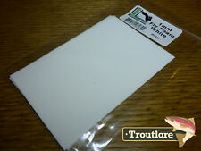 1MM ULTRA THIN FLY TYING FOAM WHITE 2-PACK - NEW TERRESTRIAL FLY TYING MATERIALS