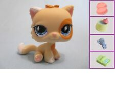 Littlest Pet Shop Cat Persian 521 and Free Accessory Authentic Lps