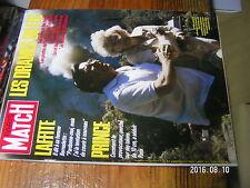 1µ? Revue Paris Match n°1945 J.Laffite Coco Chanel Benazir Bhutto Prince Pisier