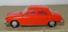 E old made in france 1966 micro norev oh 1/87 peugeot 204 orange #532