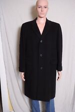 VTG '50s Snellenburgs PA Exclusively Blended Cashmere Wool blend Overcoat 42