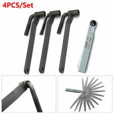 4X Motorcycle Tool Valve Screw Wrench 8mm 9mm 10mm & 1x Feeler Gauge Adjustment