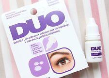 DUO Individual eyelash adhesive Wimpernkleber transparent Wimpernverlängerung