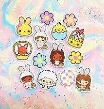 35 Pack Paper Easter Holiday Stickers