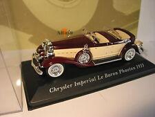VOITURES CLASSIQUES CHRYSLER IMPERIAL LE BARON PHAETON DE 1933 SCALE 1/43