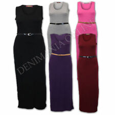 Stretch Machine Washable Solid Dresses for Women