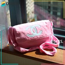 NEW Chanel Precision Velour Makeup Crossbody shoulder Bag Vip Gift - PINK