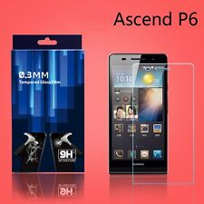 100% Genuine Tempered Glass 9H Screen Protector Japan Glass For Huawei Ascend P6