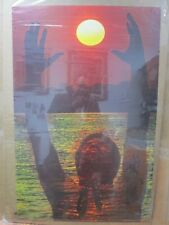 Mine Vintage Poster Peace love ecology sun 1972 in#G3934