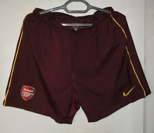 Arsenal London Football Soccer Player Issue Shorts Nike Size XL