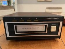 Realistic Stereo 8 Track Player Model 14-935 Tr-169