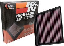 Fits Jaguar XF 2009-2015 K/&N Performance High Flow Replacement Air Filter
