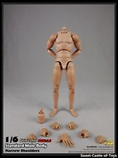 1/6 Coomodel Action Figure Standard Narrow Shoulders Male Body No. BD001 New 2.0
