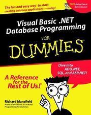 Visual Basic .NET Database Programming for Dummies-ExLibrary