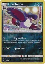 Honchkrow 72/156 S&M Ultra Prism REVERSE HOLO PERFECT MINT! Pokemon